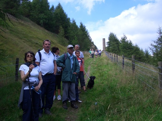 Guided walk descending Facit Incline