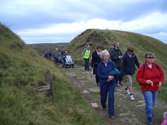 Guided Walk through Cutting on Lee Quarry Tramway