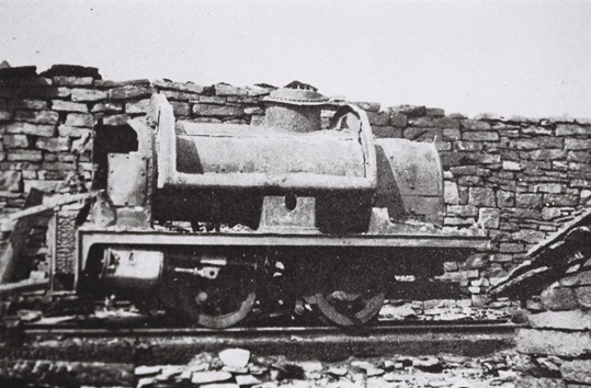 Loco used on Scout Moor Tramway