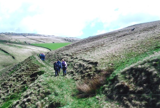 Scout Moor Tramway Ledge Guided Walk