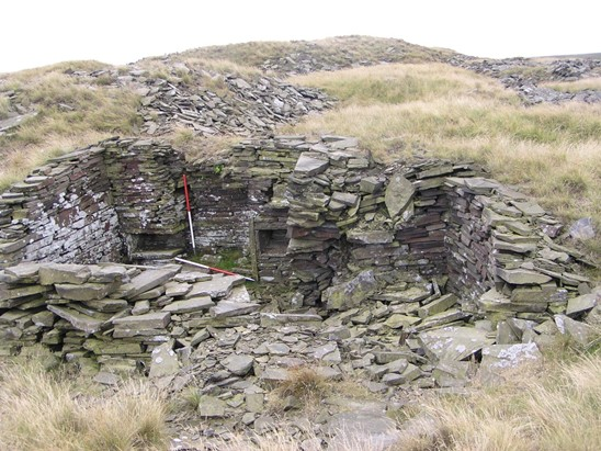 Good example of a quarryman's hut.  From Cragg Quarry, Rossendale